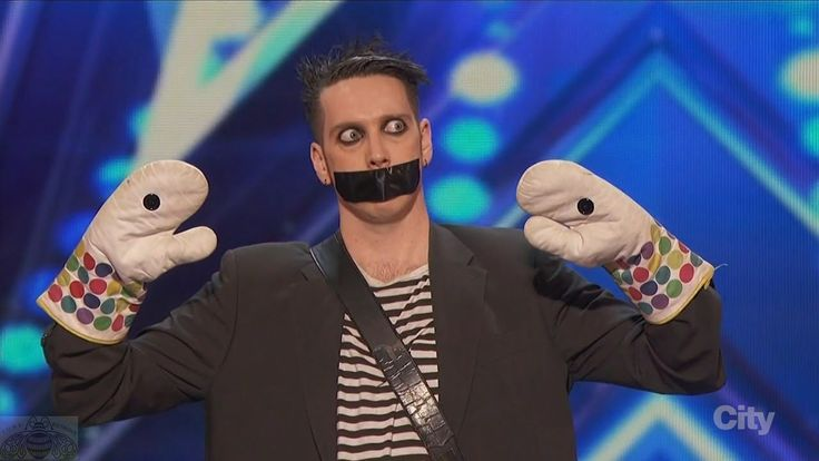 America's Got Talent 2016 Tape Face Incredibly Inventive Comedy ........ This is absolutely incredible, I laughed so hard, I cried.