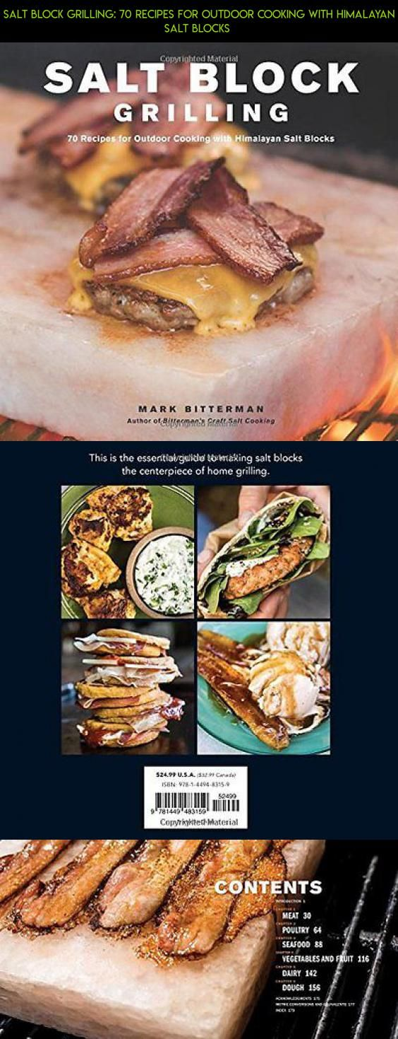 Salt Block Grilling: 70 Recipes for Outdoor Cooking with Himalayan Salt  Blocks #drone #