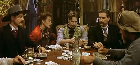 partie de poker : Tombstone , 1993
