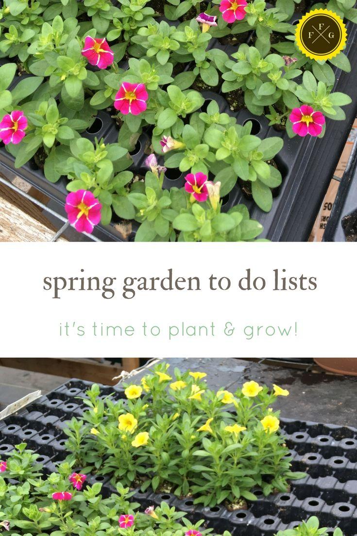 Spring gardening to do lists prdirtlab pinterest spring