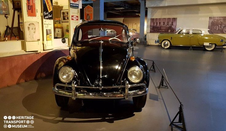 A 1963 Volkswagen Beetle is a 2 door economy car & was the most influential one in the 20th century! 🚘🚗  #Volkswagen #Beetle #vintagecars #vintagecollection #travel #vintagestyle #heritage #transport #museum #htm #explore
