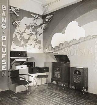 In 1932, Arne Jacobsen, Denmark's internationally renowned architect, arranged a radio exhibition in Copenhagen.