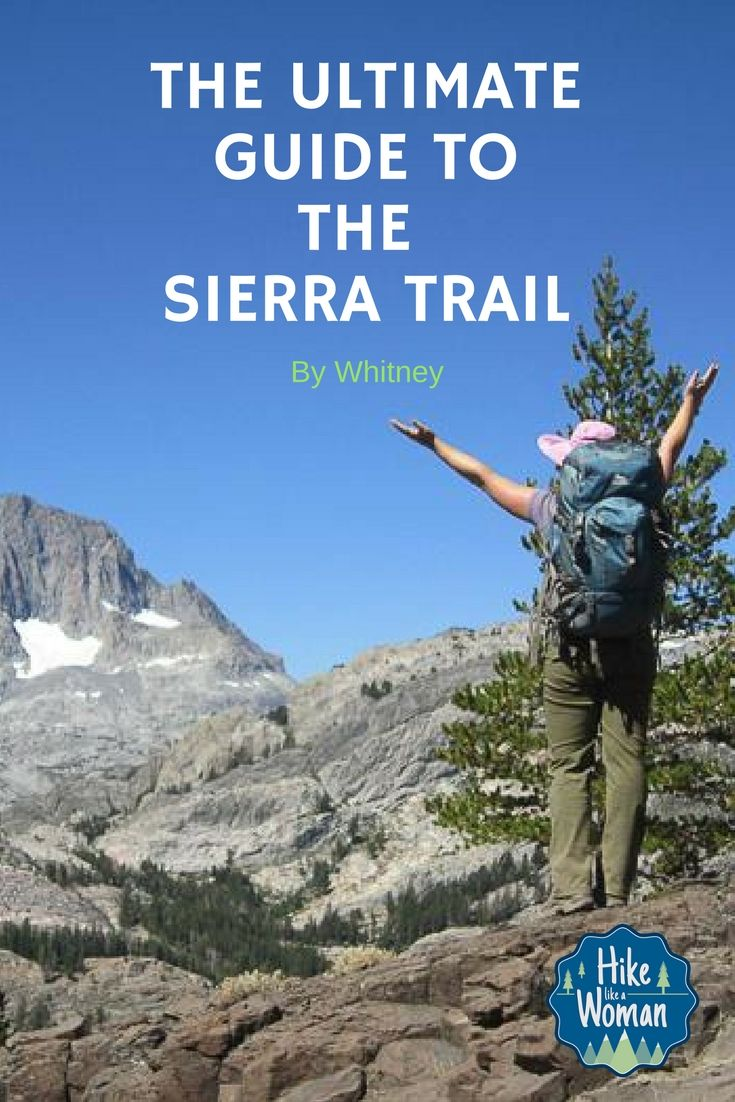 It's time to start planning your next trip to the Sierra Nevada. Whitney, from #teamHLAW & Whit's Wilderness is on the blog today with the Ultimate Guide to the Sierra Trail. She breaks down everything from directions to permits, check it out!  The Ultimate Guide To The Sierra Trail http://hikelikeawoman.net/2017/01/the-ultimate-guide-to-the-sierra-trail/