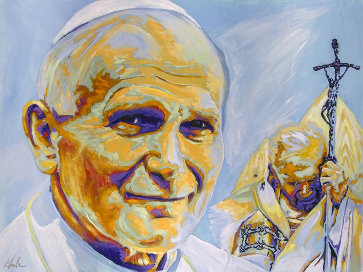 Today – April 2, 2015 is the 10th Anniversary of the death of ST JOHN PAUL II