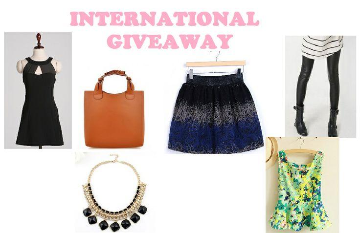 www.fashionmemos.blogspot.com International Giveaway