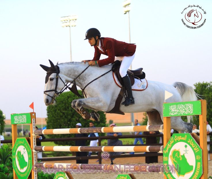 Riding Argelith Squid, Nasser Al Ghazali of Qatar was placed 2nd in the CSI3* GCC Grand Prix in Riyadh, KSA.