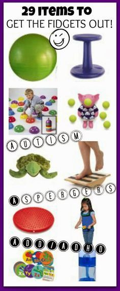 CAUTION! Twins at play!: 29 items to get the fidgets out!