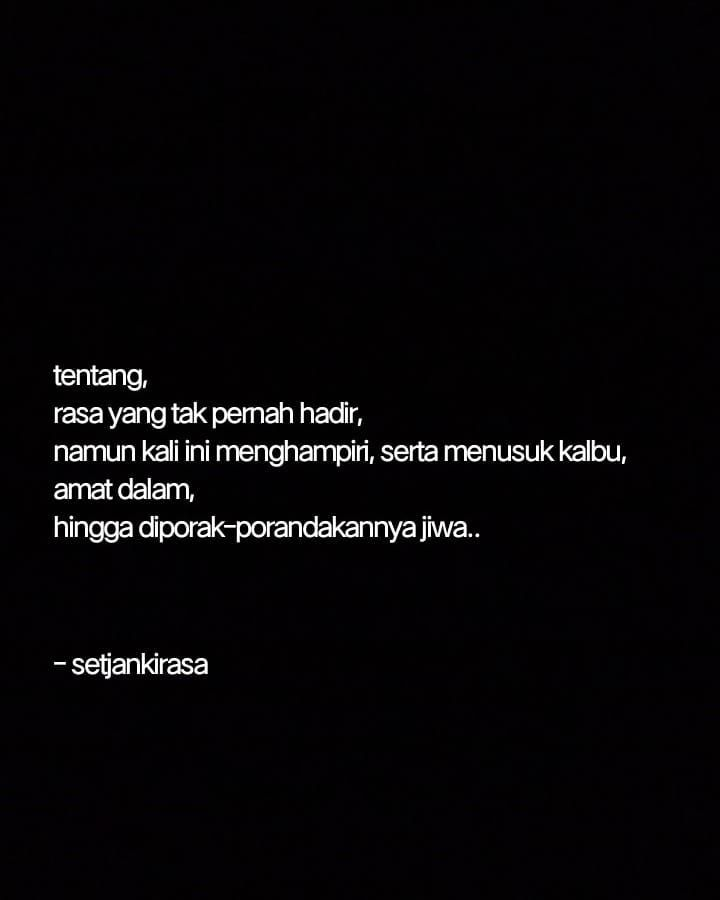 Teenager Quotes Images Tentang Rasa Tentang Quotes Senja