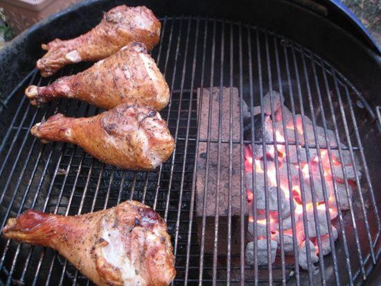 How to Smoke Turkey Legs