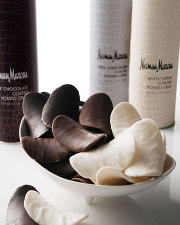 Neiman Marcus Chocolate-Coated Potato Crisps