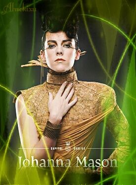 District 7: Johanna Mason - Capitol Couture by Ahsokixu on DeviantArt
