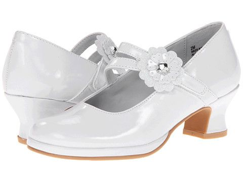 Rachel Kids Katherine (Big Kid) White Patent - Zappos.com Free Shipping BOTH Ways