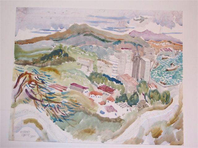 Richard Chrisp artist of The Little Gallery