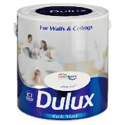 Dulux Matt White Mist 2.5L This Dulux Matt White Mist Paint offers unique colour protection in a wipe clean finish which minimises imperfections giving a contemporary effect for your walls and ceilings. A tester pot is availabl http://www.comparestoreprices.co.uk/paint/dulux-matt-white-mist-2-5l.asp