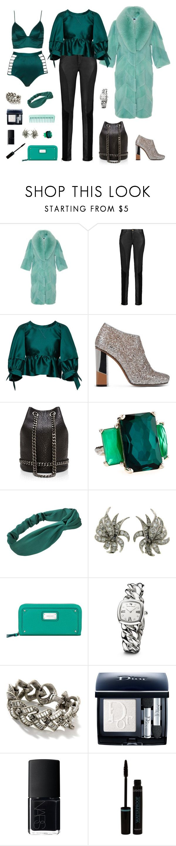 """""""Chevron Outfit Only Contest: Chevron Coat"""" by tippi-h ❤ liked on Polyvore featuring Blumarine, Emilio Pucci, Aquilano.Rimondi, L'Autre Chose, Vince Camuto, Ippolita, Chaumet, Nine West, David Yurman and Sweet Romance"""