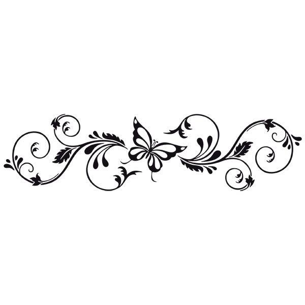 Vinilos Decorativos: Floral Adelfis