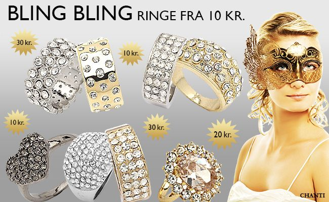 http://www.chanti.dk/p-Se_flere_maerker-BLING_BLING_smykker  #rings #bling #blingbling #chanti #smykker #jewellery #jewelry #chantijewellery #chantijewelry #party #fest #billig #webshop #onlineshopping