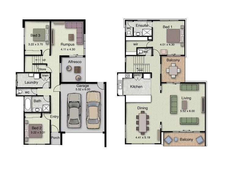 36 Best Reverse Living House Plans Images On Pinterest