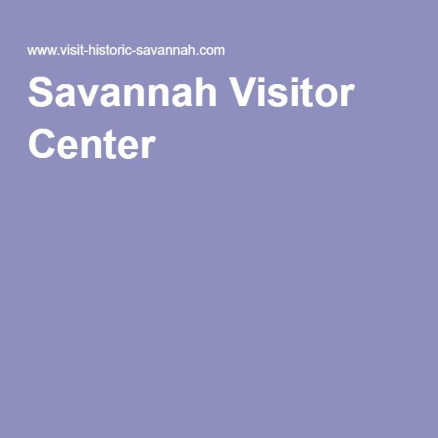 Savannah Visitor Center