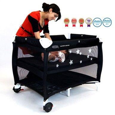 /babyhood-bambino-dormire-portacot-black/
