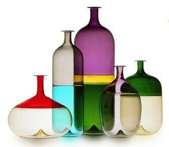 Venini - Rothko inspired glass forms.