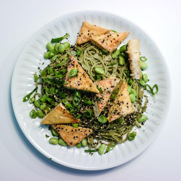 Sobanudler og tofu i misosaus