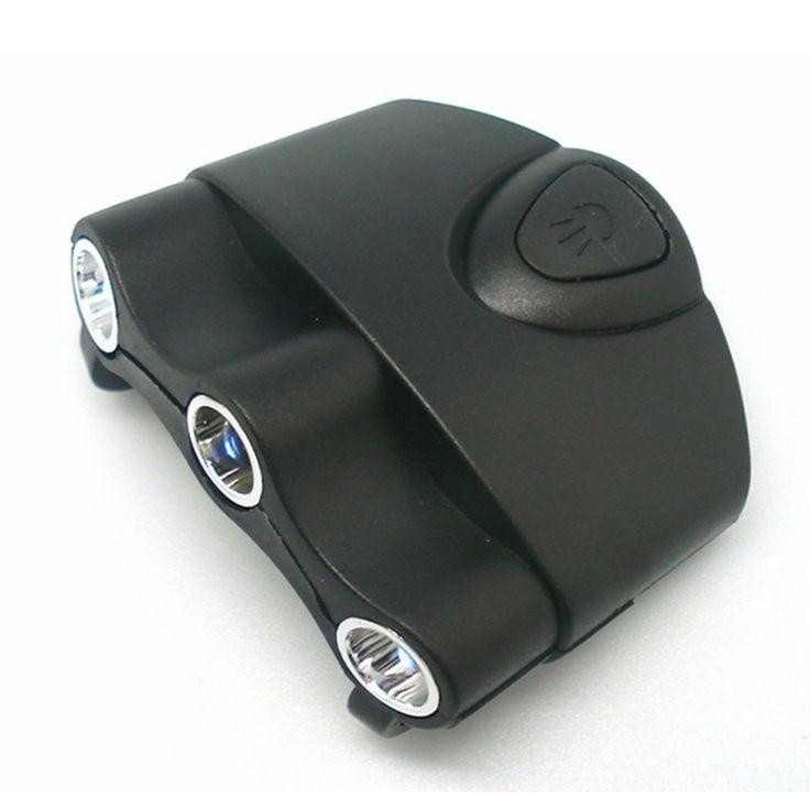 LED Kappenlampe Kopflampe Stirnlampe Cap Light 3 LED Mutze Basecap Angeln Joggen #Affiliate