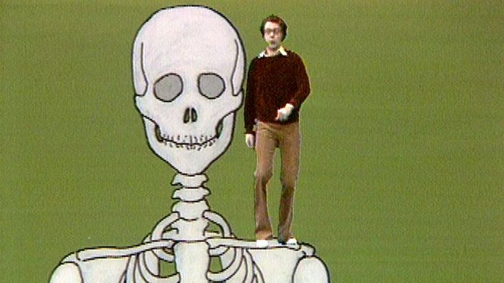 En serie i fem avsnitt där Jan Bergquist spelar sig själv och gossen Kalle som frågar om kroppens organ och funktioner. Detta program om kroppens stomme: benen. Medverkande: Jan Bergqusit Producent: Annika de Ruvo