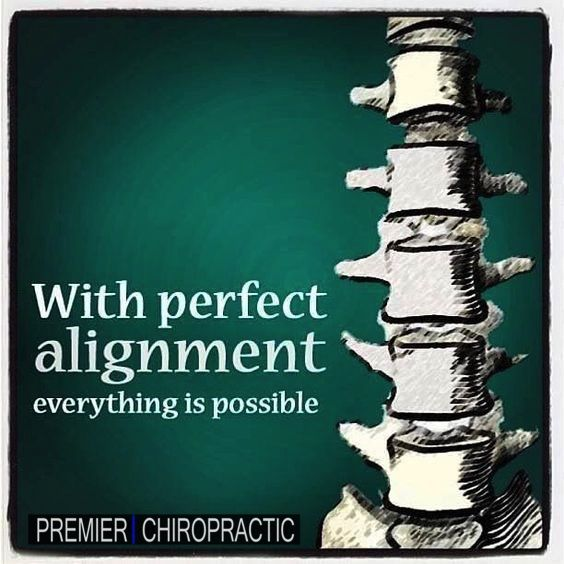 call us at Premier Chiropractic to make an appointment to get well adjusted!