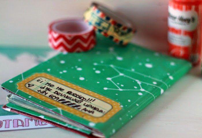 Funda para pasaporte con la colección trotamundos de Escrap