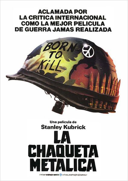 La chaqueta metálica (1987) Reino Unido. Dir: Stanley Kubrick. Drama. Bélico. Guerra de Vietnam. Películas de culto - DVD CINE 43