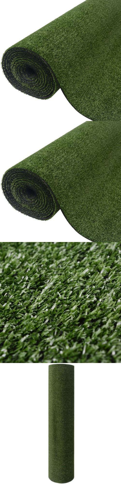 Synthetic Grass 181031: Vidaxl Artificial Grass Mat Garden Lawn Fake Grasses Uv-Resistant 3.3 X 49.2 Ft -> BUY IT NOW ONLY: $74.99 on eBay!