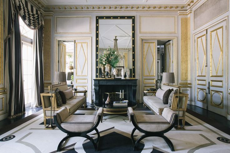 11 Art Deco Inspired Spaces on MotleyDecor.com