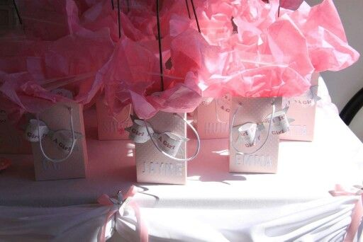 Baby shower personalized lollies gift boxes