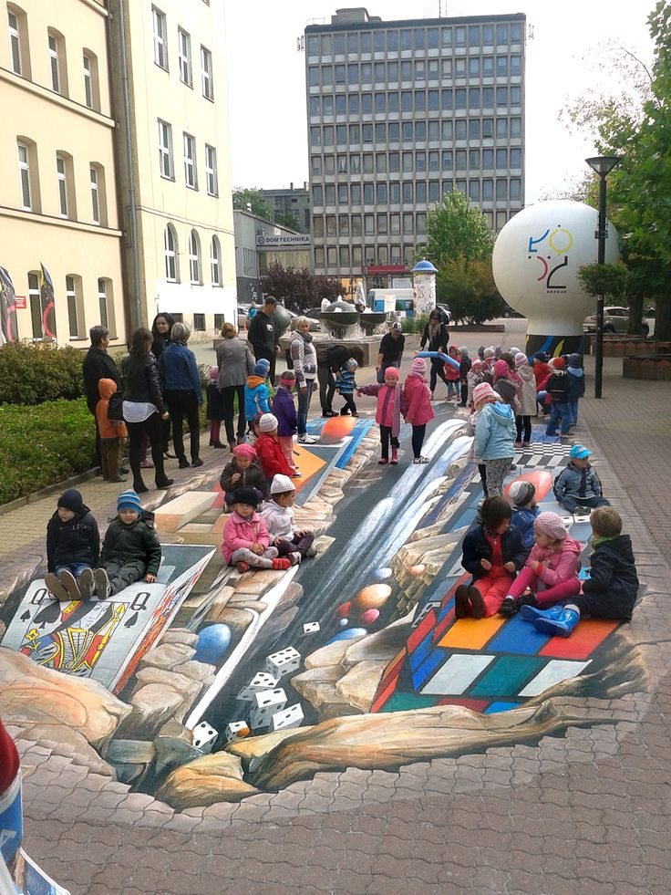 3D Painting in Lodz/PL