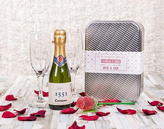 Kit personalizado para una noche de amor