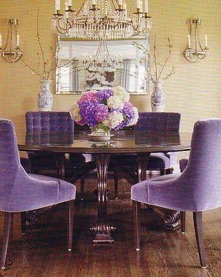 Best 25+ Purple dining rooms ideas on Pinterest | Purple dining ...