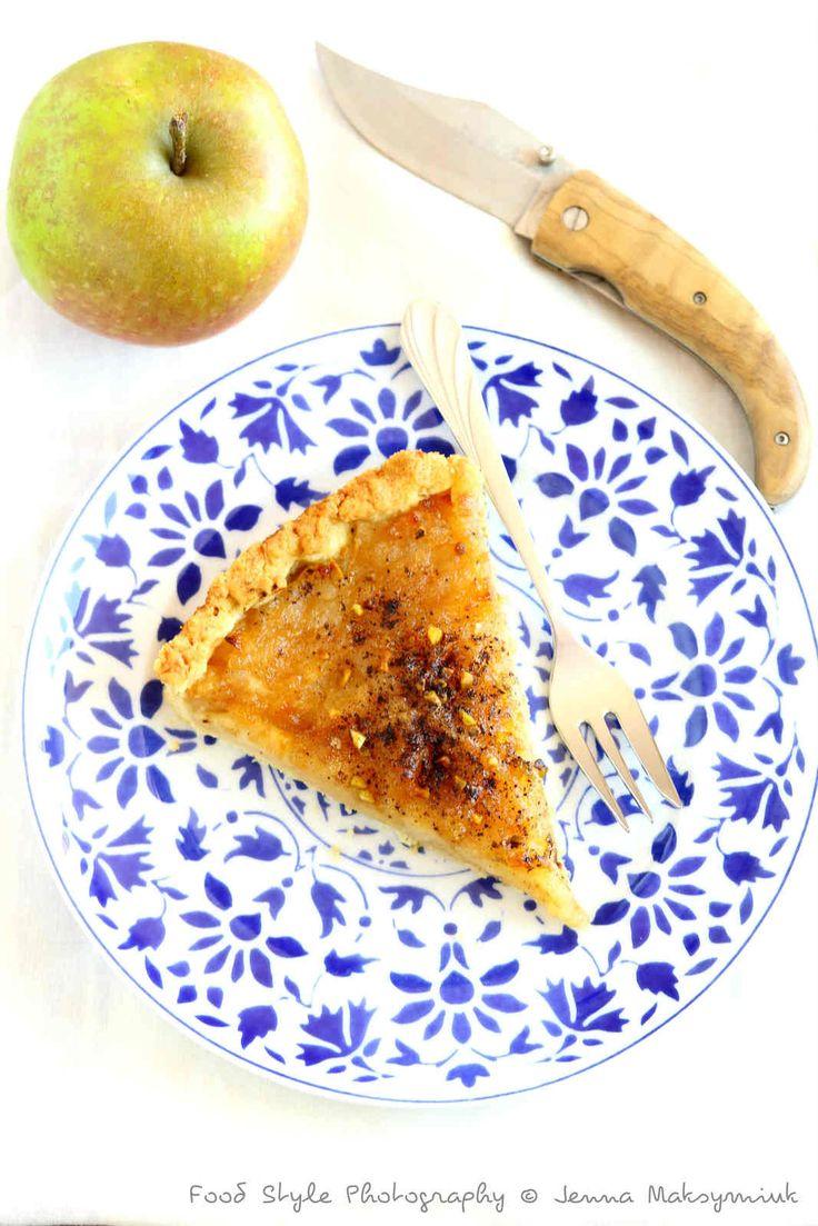 Tarte aux pommes acidulées