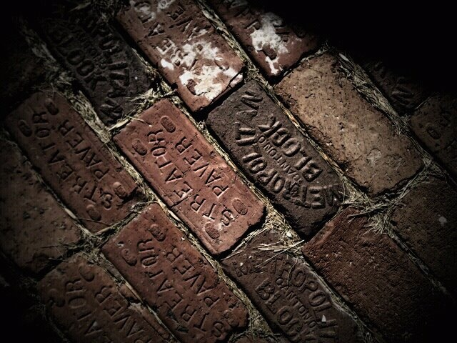 how greatly I yearn for a personalized brick of my own.