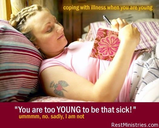 """You are too young to be that sick"""