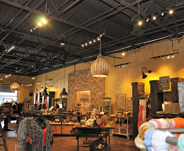 Exposed Ceiling Retail Space Lizard Thicket Atlanta ...