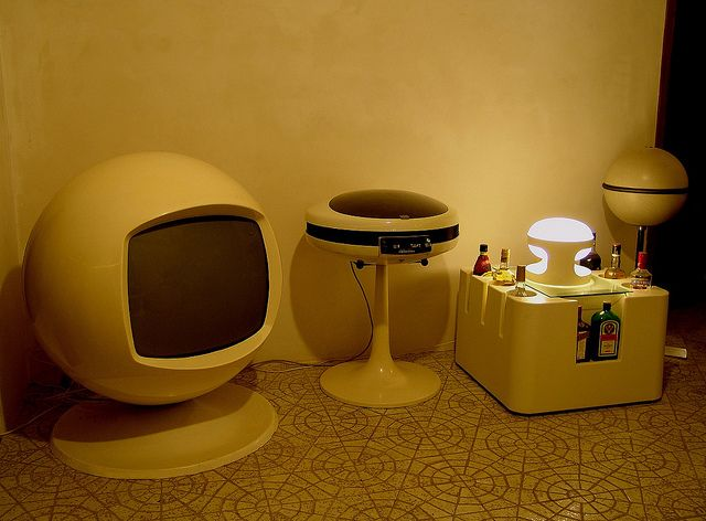Eames Era Entertainment Room.