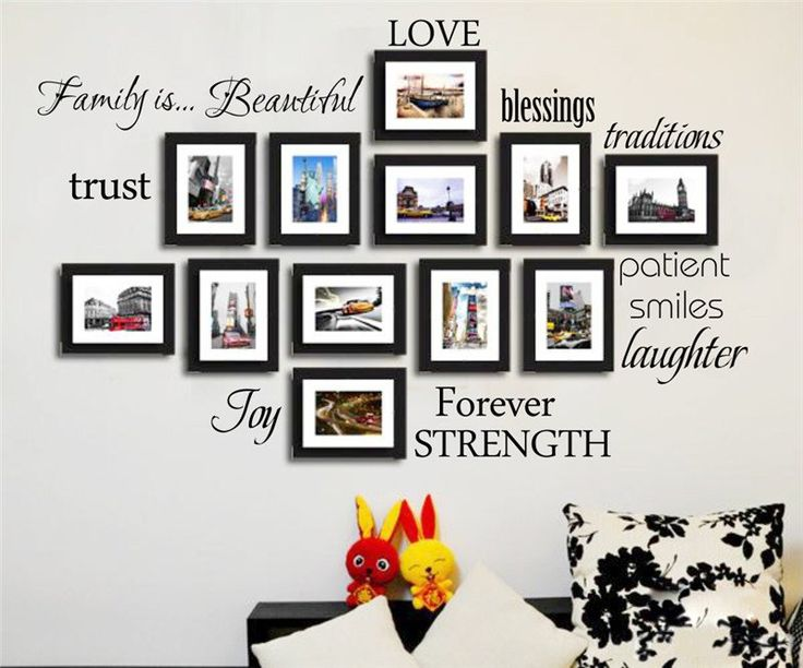 Family Quotes Removable Wall Decal – GetheBuzz