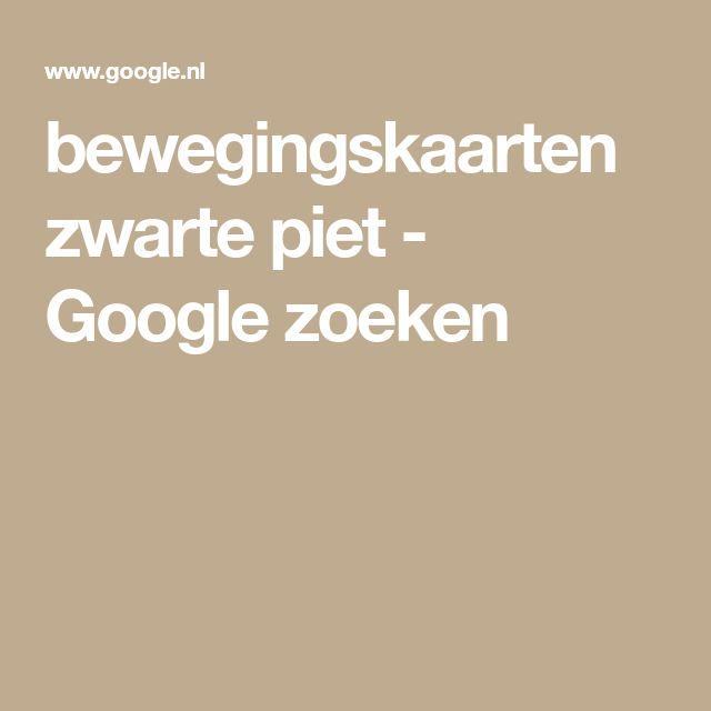 bewegingskaarten zwarte piet - Google zoeken