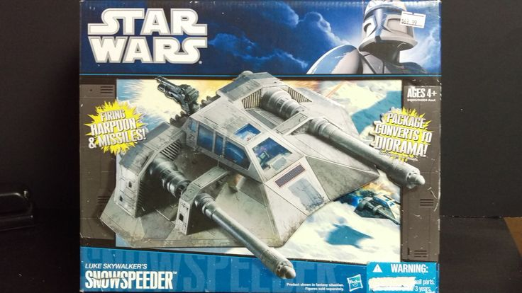 STAR WARS LEGACY LUKE SKYWALKER'S SNOWSPEEDER