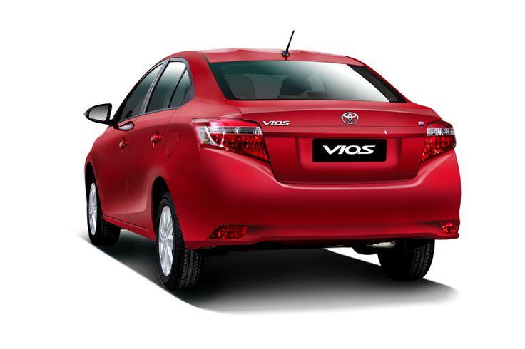 Toyota All New Vios Type E Exterior 8