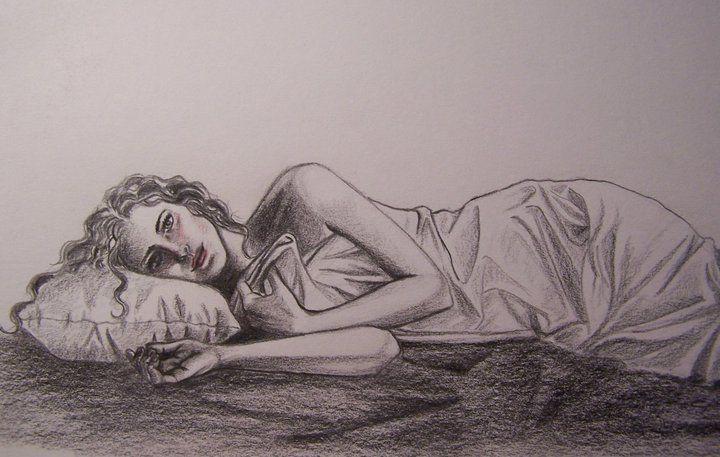 "Blackstrokes. ""Soñando despierta"". Lápiz. Año 2010. Illustration"