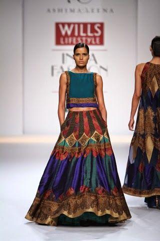 Scarlet Bindi - South Asian Fashion Blog: Wills Lifestyle Fashion Week Autumn/Winter 2014: Day 2