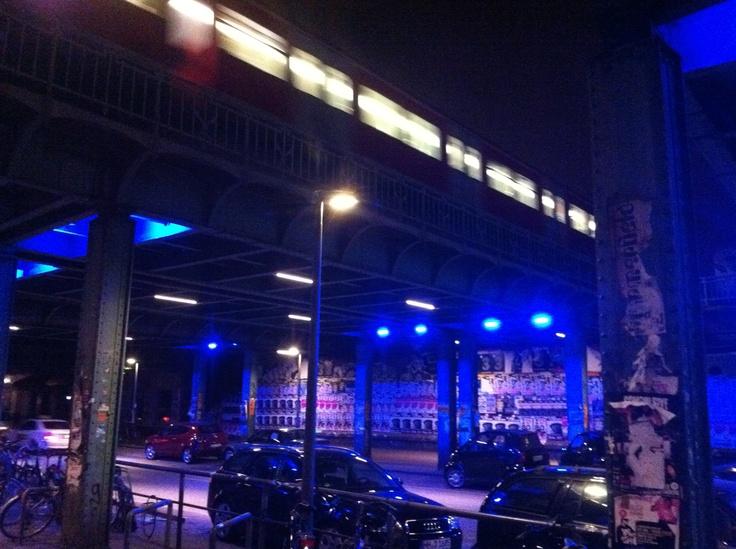 Hamburg Sternschanze Nighttime
