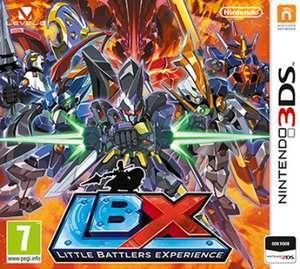 Little Battlers Experience  In Little Battlers eXperience voor de verschillende Nintendo 3DS-systemen speel je als Van Yamano een jongen die in het bezit komt van een LBX: een complexe robot die in de palm van je hand past. Met de LBX moet Van het opnemen tegen een kwaadaardige organisatie die bekendstaat als de New Dawn Raisers. Verzamel meer dan 4000 onderdelen om je eigen unieke LBX te bouwen. Kies uit meer dan 130 kant-en-klare sets of experimenteer zelf met onderdelen. Je kunt zowel de…